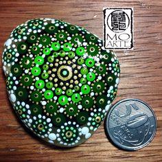 stone art painting/mandala