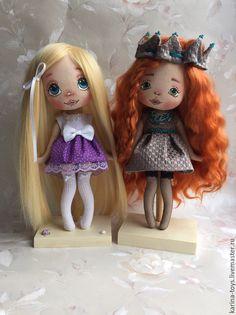 """Купить """"Я- Принцесса"""" - коричневый, кукла ручной работы, кукла, кукла в подарок…"""