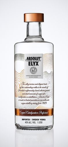 AbsolutElyx.  Classic martini or straight up.  Don't mix this with Redbull!!