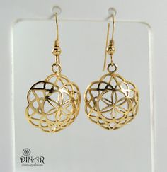 Hey, I found this really awesome Etsy listing at https://www.etsy.com/il-en/listing/154472757/flower-earrings-14k-gold-dangle-earrings