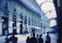 """http://www.piziarte.net/sweethome.htm #Opera #presente e #disponibile NEL #MAGAZZINO_DI_PIZIARTE  #GERARDO_AMANTE  """"In Galleria """"  Olio su tela  cm. 50 x 70, 2013   #artecontemporanea #contemporaryart #pittura"""