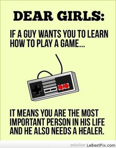 Dear Future Gamer Girls
