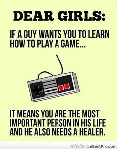 Dear Future Gamer Girls