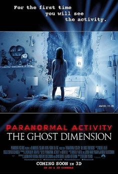 •••Information•••  The Ghost Dimension, follows a new family, The Fleeges - dad Ryan (Chris J. Murray), mother Emily (Brit Shaw) and their young daughter Leila (Ivy George) - Who transfer to