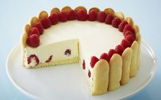 Raspberry Lemon Torte by Anna Olson (Berries, Lemon) @FoodNetwork_UK
