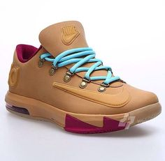 reputable site c68a8 d33b6 THE SNEAKER ADDICT  Nike KD 6 VI EXT Wheat Gum Bottom Sneaker Available Now