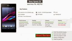 Sony Mobile Phones, Mobile Phone Price, Latest Phones, Sony Xperia Z3, Latest Mobile, Mobiles, Mobile Phones