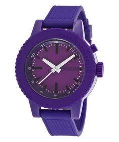 Another great find on #zulily! Purple Gogo Watch by Nixon #zulilyfinds