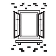 Darice® Embossing Folder - Window Shutter - 4.25 x 5.75 inches