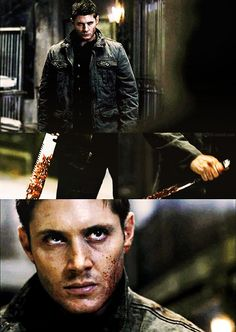 Dean Winchester. You won't like him when he's angry. Or maybe you will.