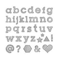 Epic Alphabet Photopolymer Stamp Set by Stampin' Up! $26.00