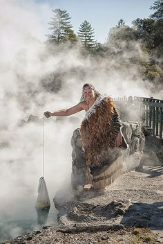 Join an hourly guided tour through Whakarewarewa Village and indulge in a delicious Hangi Meal for lunch..  http://xpoints.net/experiences/73#/