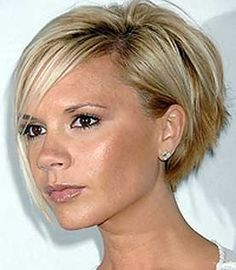 Victoria Beckham Bob Cut Hair style i don't think itll look good on me...but I'm willing to try to go shorter.