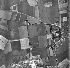 Aerial photo of Tallaght early Old Photos, Vintage Photos, Old Factory, Shades Of Green, Dublin, 1960s, Ireland, Factories, Places