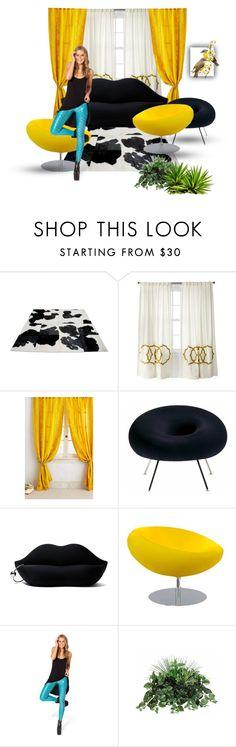 """Untitled #79"" by pirzik ❤ liked on Polyvore featuring interior, interiors, interior design, home, home decor, interior decorating, Yerra, Driade, Gufram and Tisettanta"