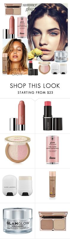 """""""Summer Glow"""" by griselvega420 ❤ liked on Polyvore featuring beauty, Clinique, Laura Mercier, Too Faced Cosmetics, Dr. Brandt, Marc Jacobs, GlamGlow, Charlotte Tilbury and summerglow"""