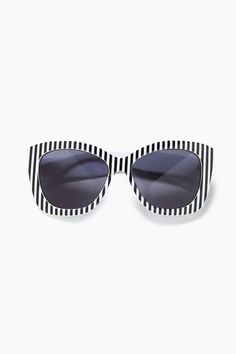 The Most Instagram-Worthy Sunglasses For Summer #refinery29  http://www.refinery29.com/statement-sunglasses#slide-3  For the stripe-obsessed.