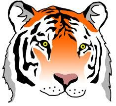 tiger clip art tiger clip art pictures vector clipart royalty rh pinterest com tiger clipart free black and white tiger clipart free