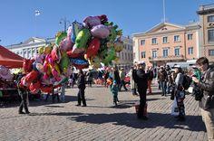 Market Square in  Helsinki #VisitFinland