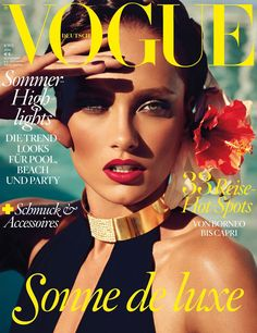 'High Glam' By Alexi Lubomirski With Karmen Pedaru Is A Sensual Feast in Vogue Germany June 2013 - 0- News for Women, Fashion & Style, Women's Rights - Anne of Carversville Women's News