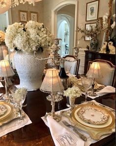 Fantastic modern french country decor are offered on our site. Read more and you wont be sorry you did. French Country Rug, French Cottage, French Country Decorating, Shabby Cottage, Cottage Chic, Mint Julep Cups, Enchanted Home, Beautiful Table Settings, Country Style Homes