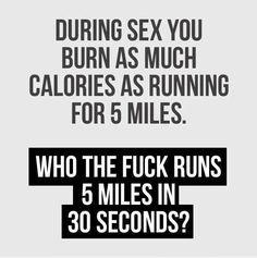 Sex burns calories