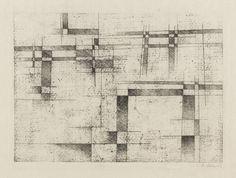 Rudolf Jahns - Brückenbau (Komposition No.58) -1962