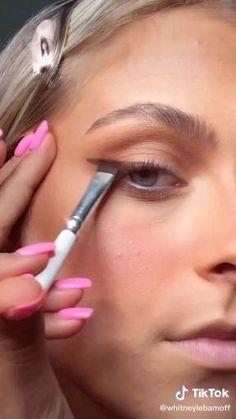 Edgy Makeup, Glamour Makeup, Skin Makeup, Eyeshadow Makeup, Makeup Art, Makeup Tutorial Eyeliner, Makeup Looks Tutorial, Maquillage On Fleek, Makeup Makeover
