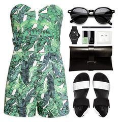 """""""tropical"""" by g-uavacoves ❤ liked on Polyvore"""