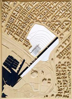 site model,  maquette, architectural model, maqueta, modulo