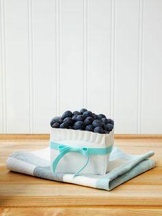 Ribbon-tied berry baskets make sharing summer's bounty a cinch.