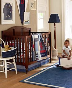 Love this Regatta Nursery from Pottery Barn Kids! #pinparty