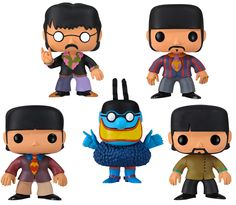 Figuras Pop! de Funko. Yellow Submarine.