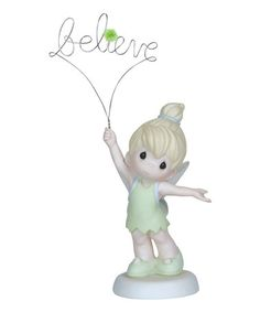 Love this Tinker Bell 'Believe' Figurine by Disney Showcase Collection on #zulily! #zulilyfinds
