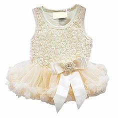 ec404b061 Sweet Heart Rose Cream Rosette Holiday Dress only $58.00 - Newborn Baby  Clothes Baby Girl Boutique