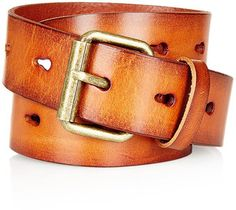Topshop Hole Punched Belt - Lyst