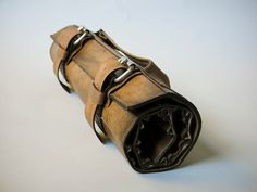 custom leather Knife Roll. by fullgive by fullgive on Etsy, $379.00