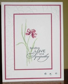 Stamping Up - Love and Sympathy : Stephanie 's Blog