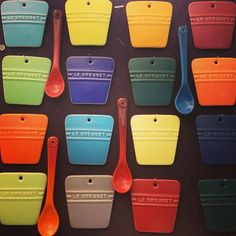 Le Creuset #color samples