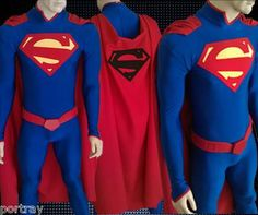 Superman New 52 Costume For Sale