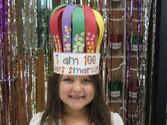 Best 100th Day hats I've ever seen!
