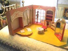 Vintage Barbie Doll 1962 Fashion Shop Cardboard Play Set Mattel Toymakers Nice