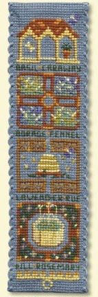 Textile Heritage Collection Cross Stitch Bookmark Kit Mediaeval King