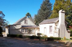 Tarella, the 1890 timber holiday cottage of Blue Mountains Historical Society, Wentworth Falls, Open days are advertised.