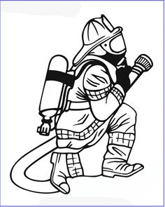 Firefighter – Firefighter Coloring Book Firefighting Fire Department C… Coloring Pages For Kids, Coloring Books, Coloring Sheets, Female Firefighter, Firefighter Decals, Firefighter Drawing, Volunteer Firefighter, 1 Tattoo, Old School Cars