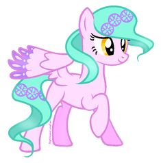 This is Violet.she has the power of invisibility and thoose little things she has on her tail and hair. They are called wheels. She throws them and then when they hit something, in her mind she thinks what she wants to happen and she can either have it blow up or dissapeer and have the person fall to the ground hard.
