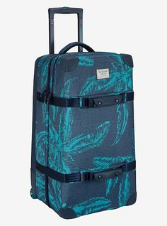 9cd403a0e9 Burton Wheelie Double Deck Travel Bag shown in Tropical Print Burton  Luggage
