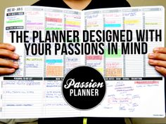 Passion Planner: Start Focusing on What Really Matters by Angelia Trinidad — Kickstarter