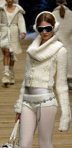 knitted runway fashion | Keep the Glamour | BeStayBeautiful