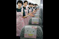 Hello Kitty já anda nos céus asiáticos | P3